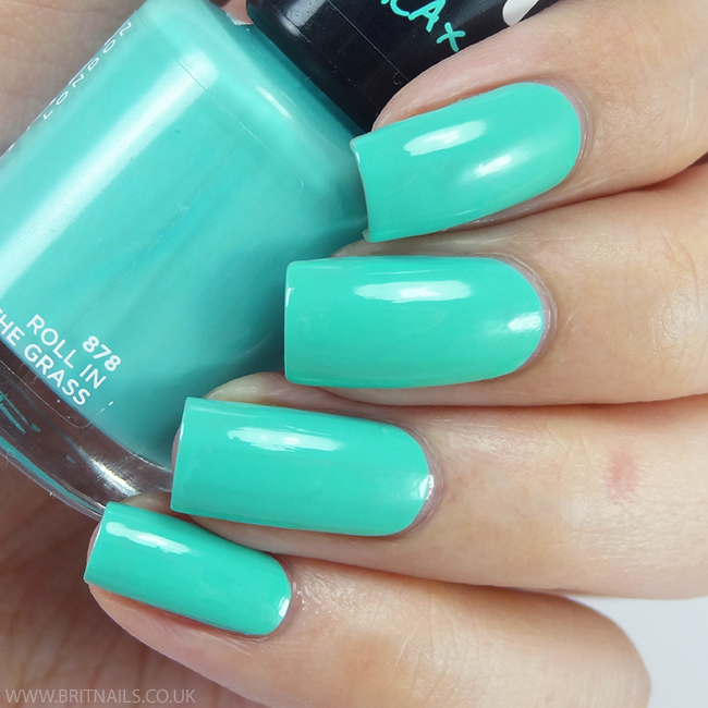 Rimmel - Roll In The Grass | Nails | Pinterest | Rimmel and Swatch
