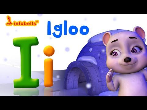 Phonics Songs | I is for Igloo | Alphabet Sounds for