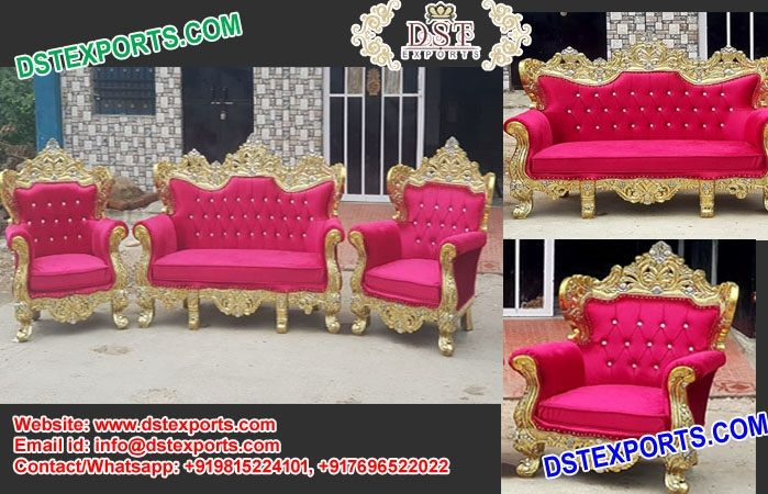asian muslim walima stage sofa set dstexports this sofa set is rh pinterest com