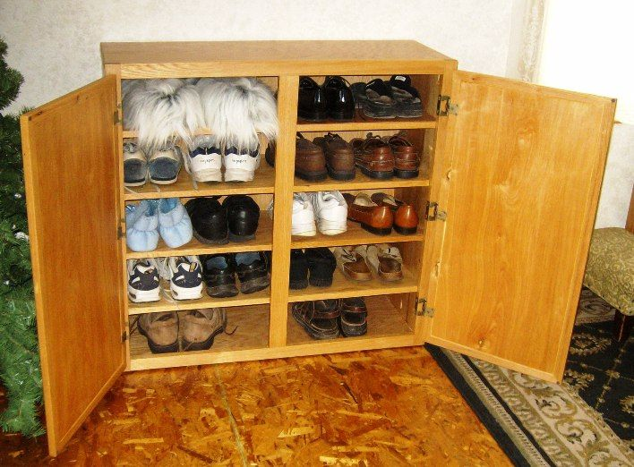 free shoe rack plans how to make