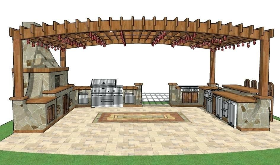 Outdoor Kitchen Plans Pdf Outdoor Kitchen Plans Free Plan Every Aspect Of The Bench Project Build Outdoor Kitchen Outdoor Kitchen Plans Simple Outdoor Kitchen