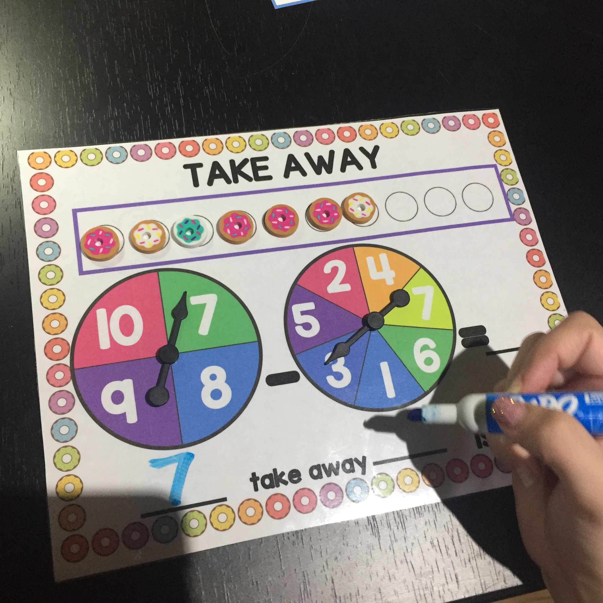 Sweet Donut Subtraction Has Been Created To Help Students