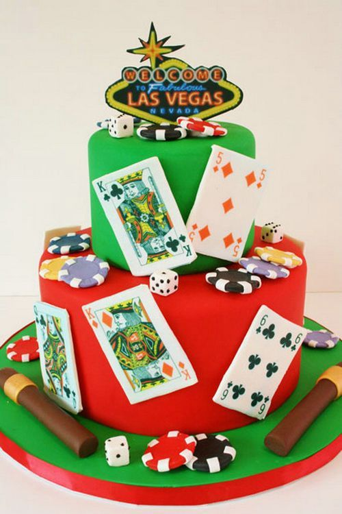 Custom Birthday Cakes Las Vegas Birthday Cake Ideas Pinterest