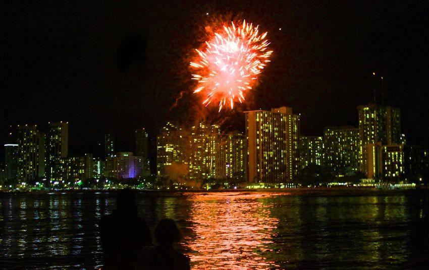 Fireworks And Sunset Dinner Cruise