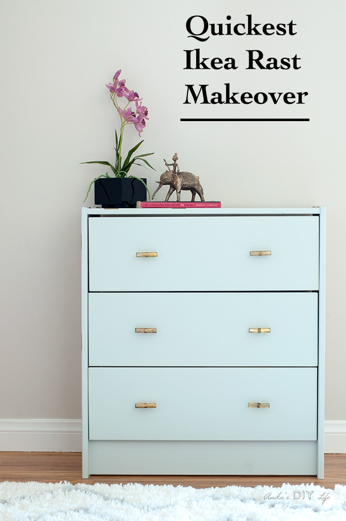 Ikea Rast Makeover : The Easiest Kind!