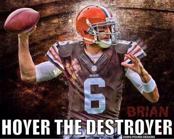 Brian Hoyer Cleveland Browns Football Browns Football Cleveland Browns