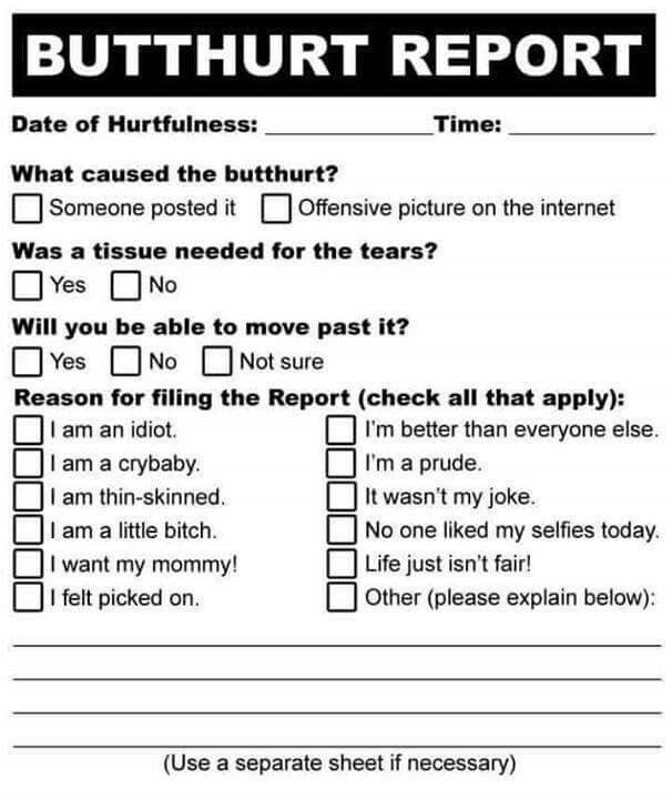 Print thisfill it out, fold it up and shove it right up your - complaint form