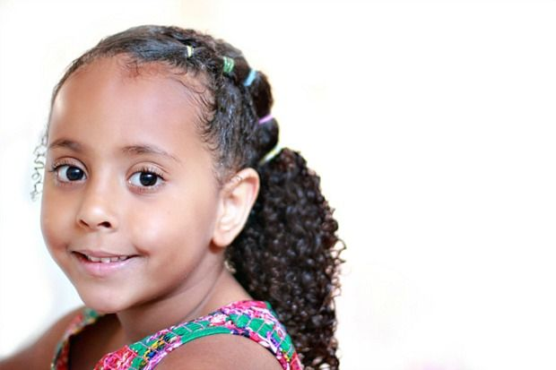 Mixed Girls Hair Styles: Top 10 Curly Hair Tips And Styles For Girls On School Days