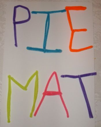 Pipe Cleaner Letters  Letter Activities Pipes And Phonics