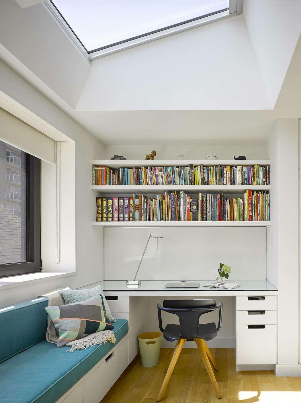 reading nook home office window seat madrigal house toronto rh pinterest com