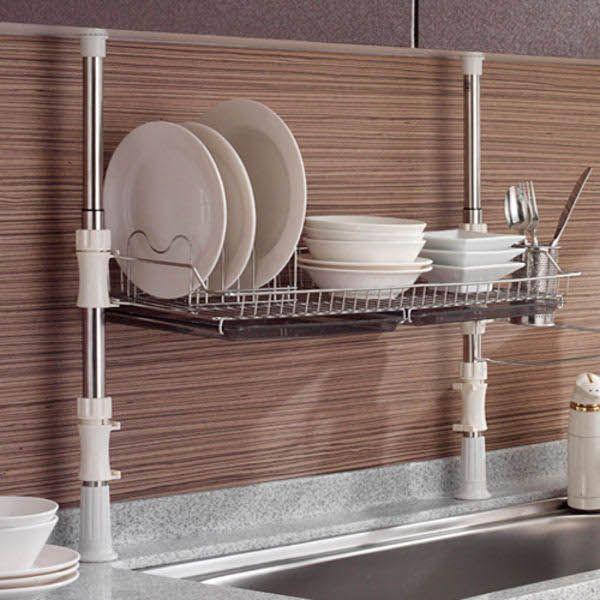 Hyundai Hmall Height Adjustable Sink Dish Drying Rack Kitchen