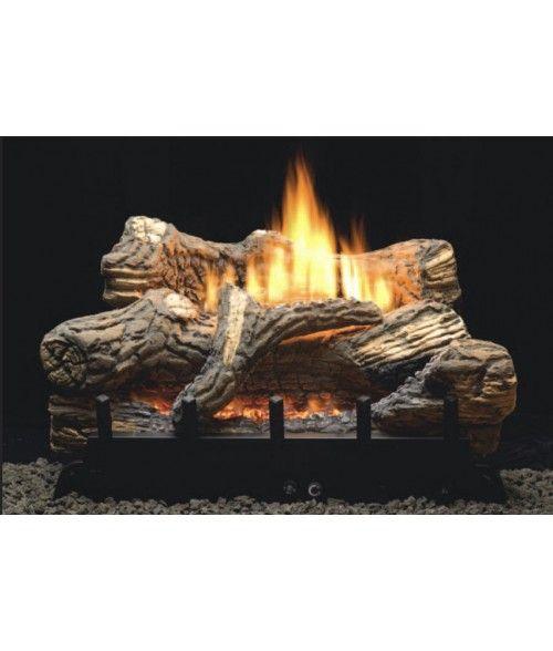 empire flint hill vent free gas log set with ansi certified burner rh pinterest com