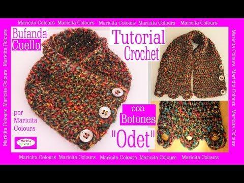 Tutorial Cuello Moebius crochet paso a paso - YouTube | patrones ...