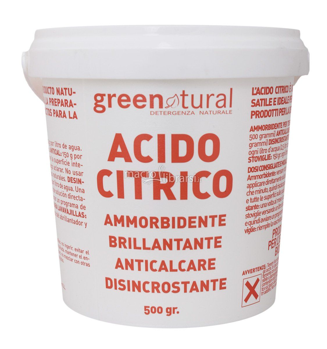 Acido Citrico Dosi Alimentari pin su cleaning hack and plus