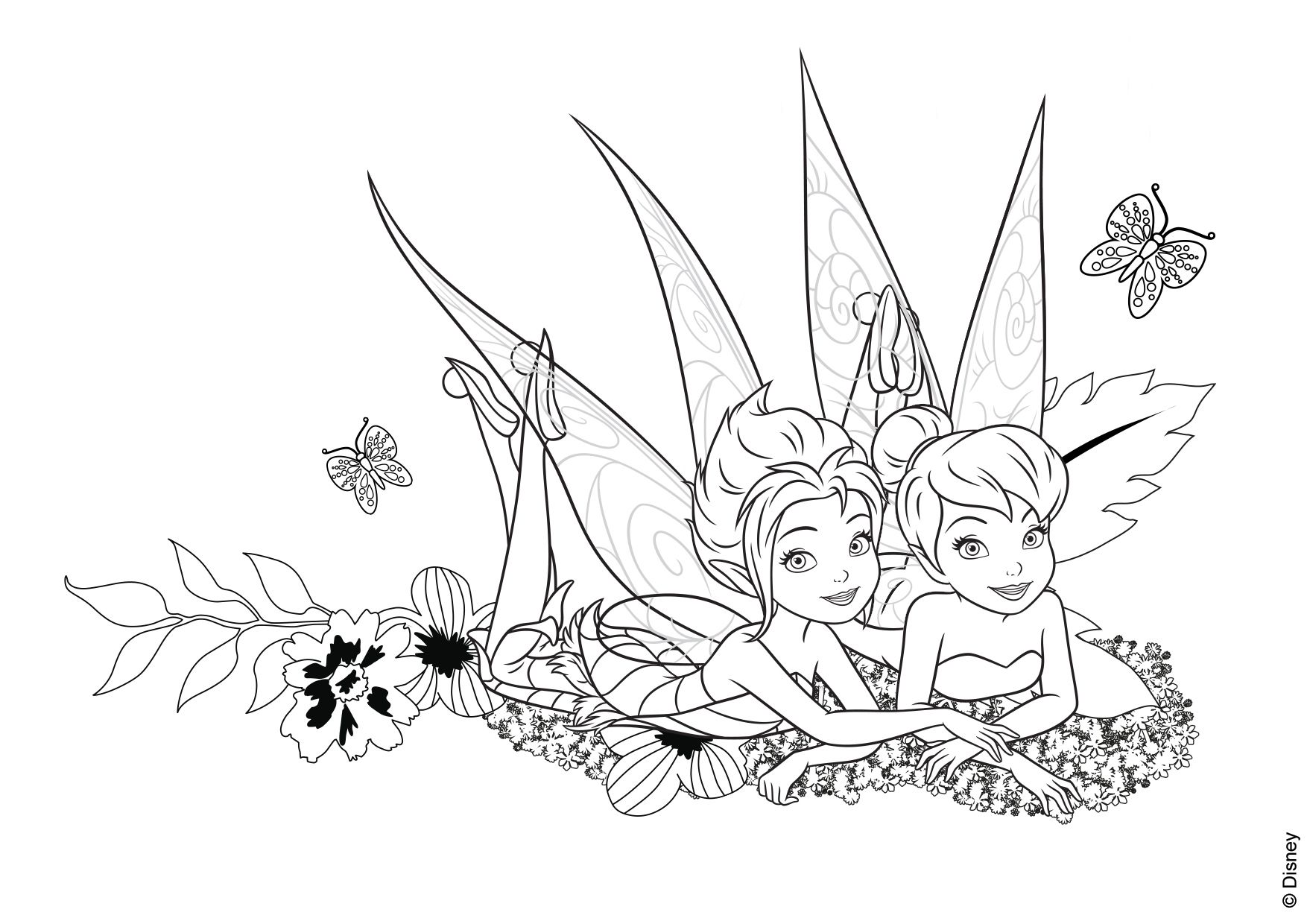 Pin By Pam On Disney Tinkerbell Coloring Pages Horse Coloring Pages Disney Coloring Pages