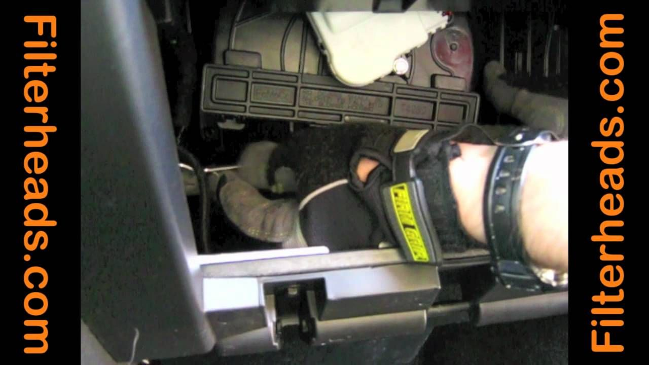 Cabin air filter replacement 2011 ford explorer