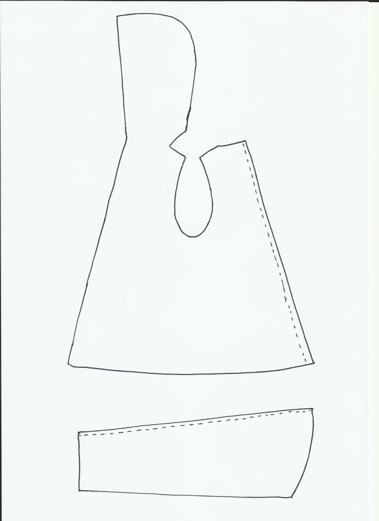 patron de chaqueta con capucha | Muñecos y accesorios | Pinterest ...