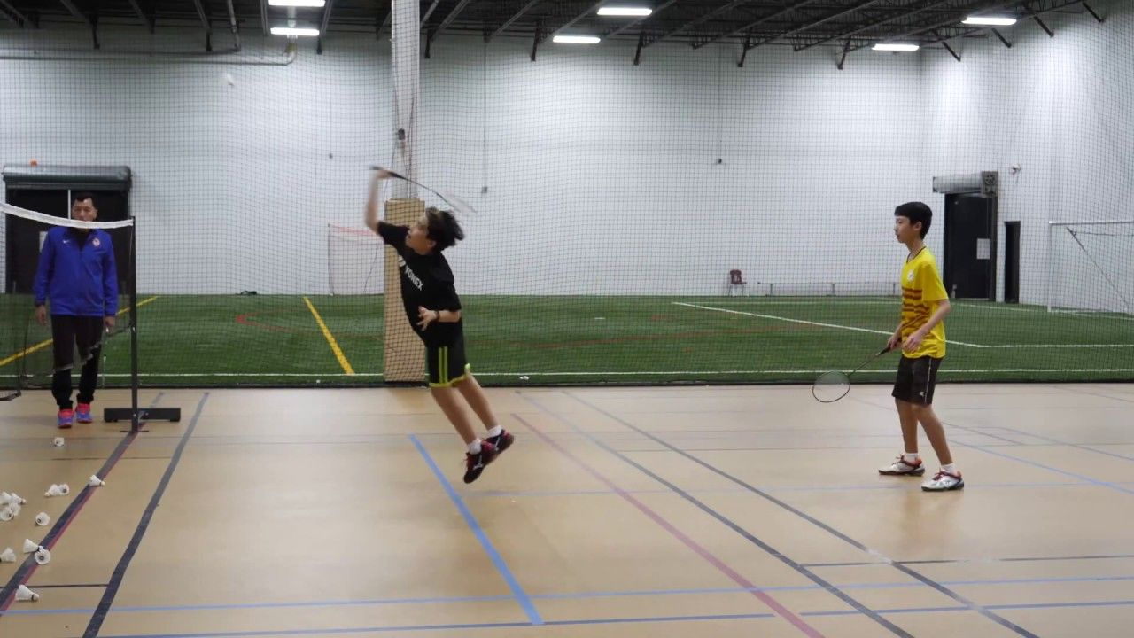 Play Better Badminton Doubles Smash Accuracy Drill