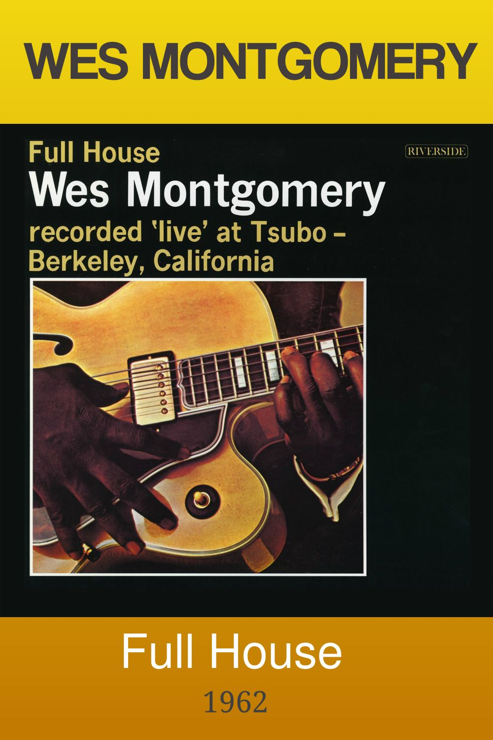 Wes Montgomery Full House Full Album In 2020 Full House Album Montgomery