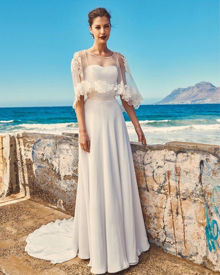"Elbeth Gillis 2017 Wedding Dress ""Milk and Honey"" Bridal seperates collection | itakeyou.co.uk #weddingdress #weddingdresses #weddinggown #weddinggowns #bridalgown"