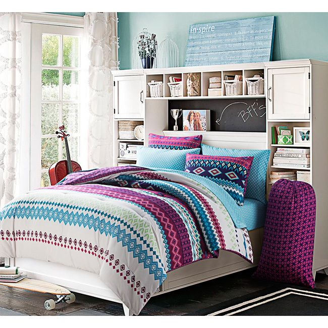 Makayla Reversible 9-piece Bed in a Bag Set - Overstock Shopping
