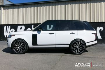 Photo of Land Rover Range Rover with 24in Vossen HF-2 Wheels exclusively from Butler Tires and Wheels in Atlanta, GA – Image Number 11175
