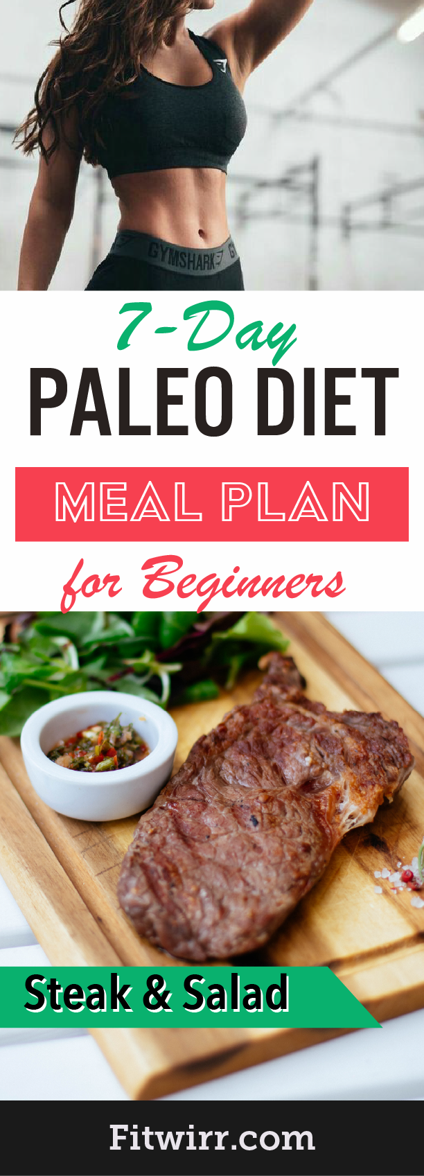 Paleo Diet Plan: A 7-Day Meal Plan to Lose Weight In a Week