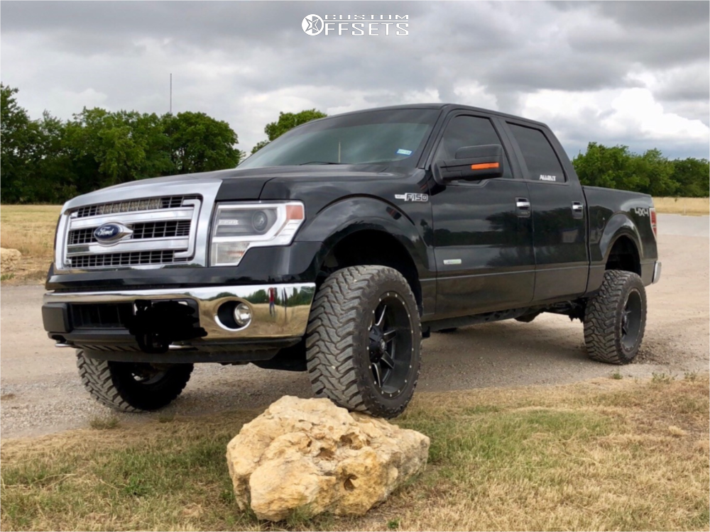 2 2014 F 150 Ford Pro Comp Leveling Kit Fuel 538 Black In 2020