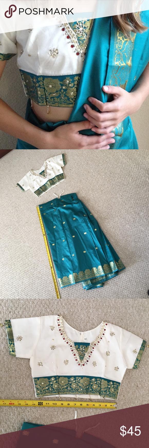Childrenus sari india for yrs old indian bollywood scarf