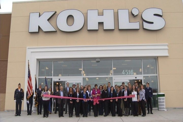 New Sault Ste. Marie Kohl's Opens With Ribbon Cutting - Northern Michigan's News Leader