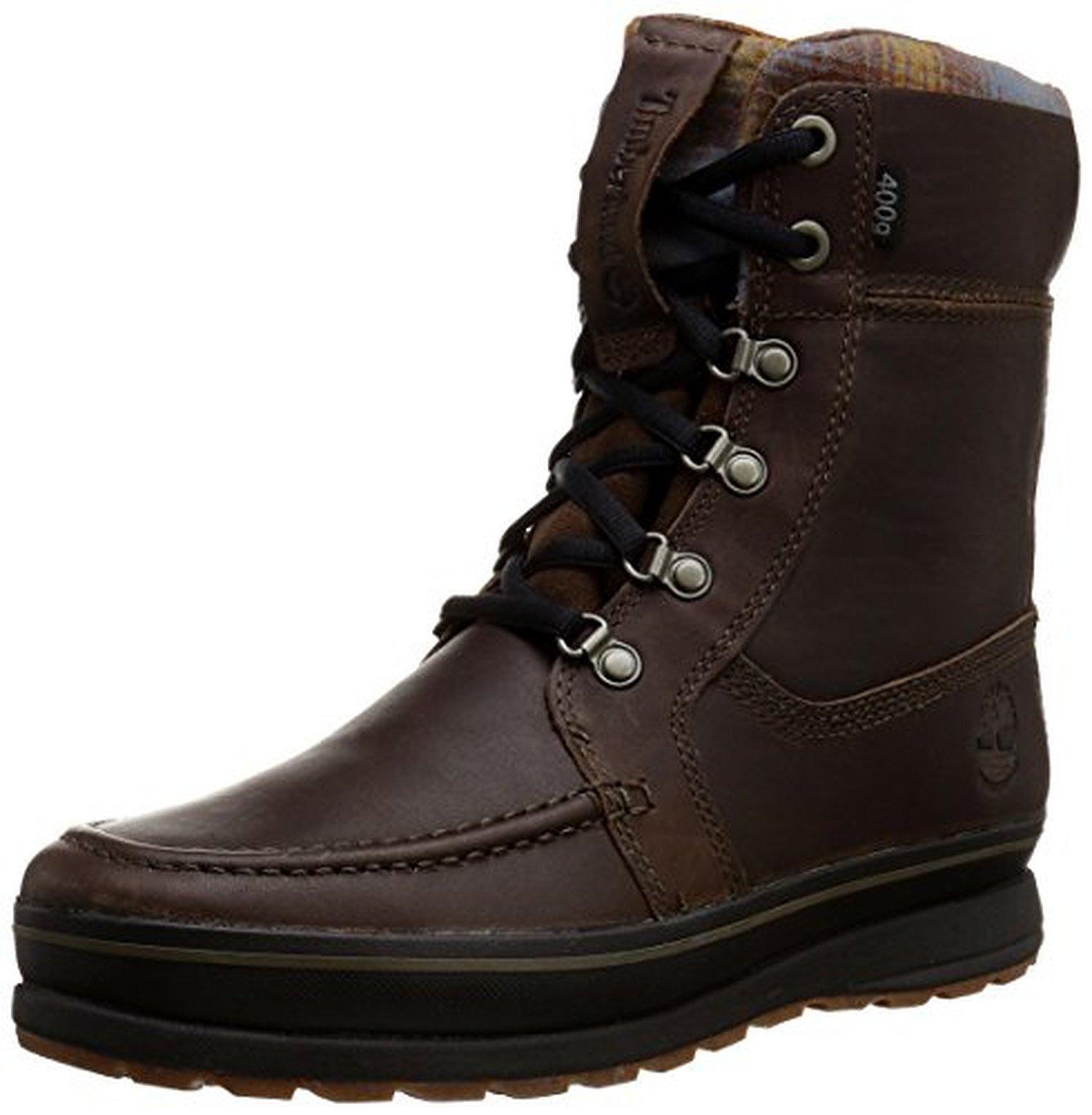 38485fea8fd Timberland Men's Schazzberg High WP Insulated Winter Boot, Dark ...