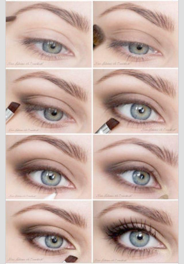 Kardashian Makeup Looks either Smokey Eye Makeup Tutorial Brown Eyes; Makeup Art…