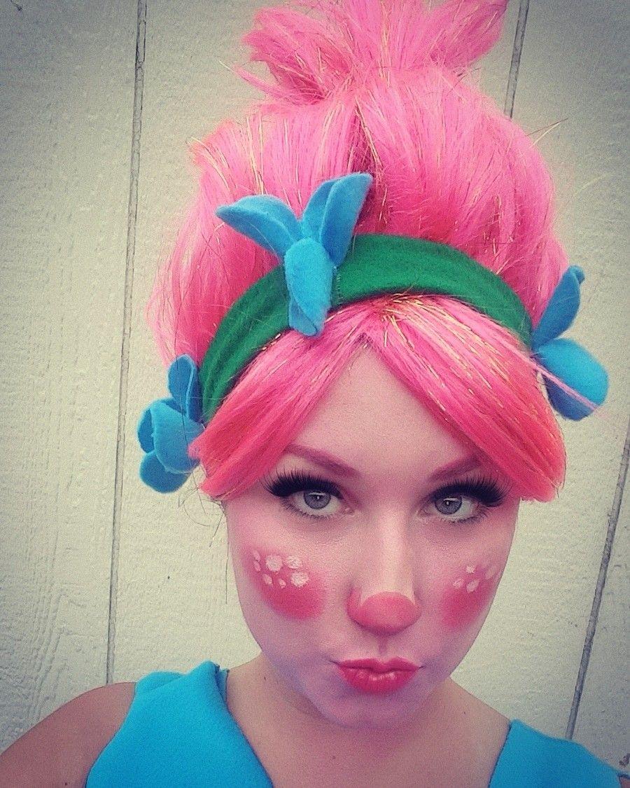 trolls princess poppy costume