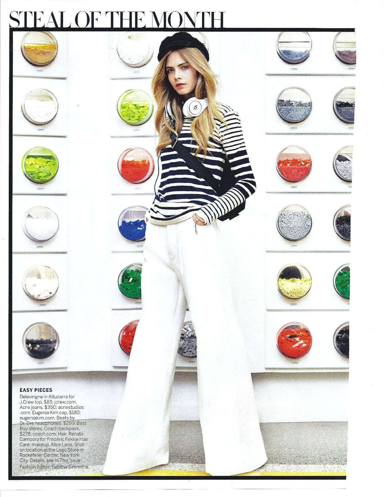 The EK Marina featured in Vogue's Steal of the Month for May!
