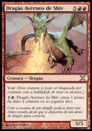 Dragão Avérneo de Shiv