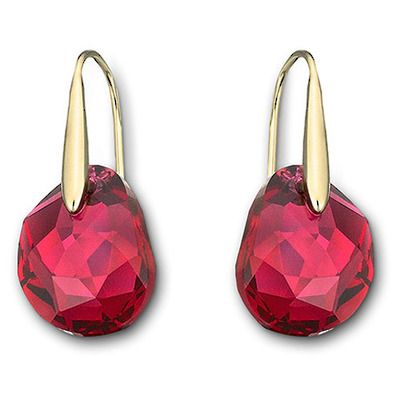 c07d092b3 Swarovski Red Galet earrings at Charlton Jewellers, Auckland, New Zealand