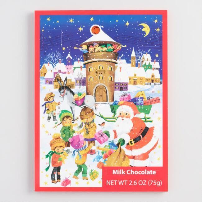 Windel Weihnachtskalender.Windel Musical Chocolate Advent Calendar Celebrate The Magic Of The