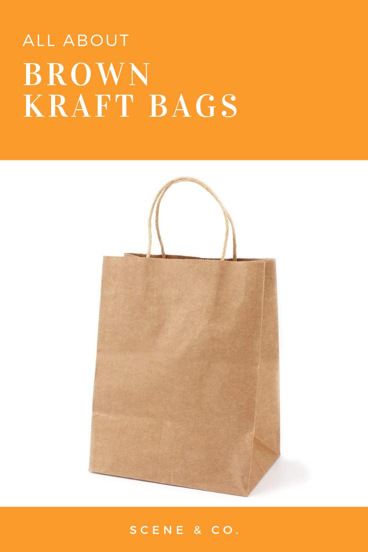 Brown Kraft Paper Bags With Handles