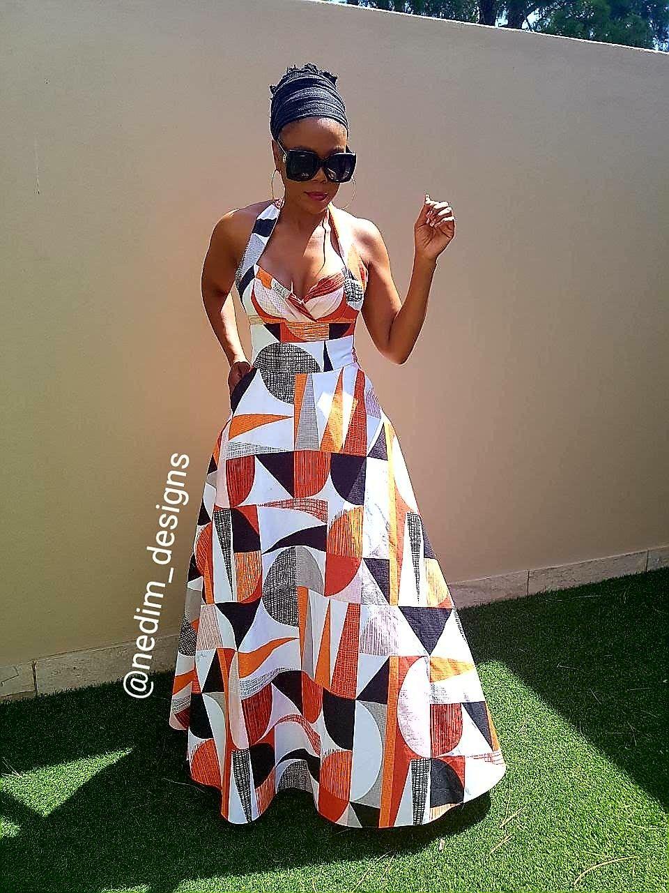 Summer Maxi Dresses Nedim Designs African Fashion African Attire African Fashion Dresses [ 1280 x 960 Pixel ]