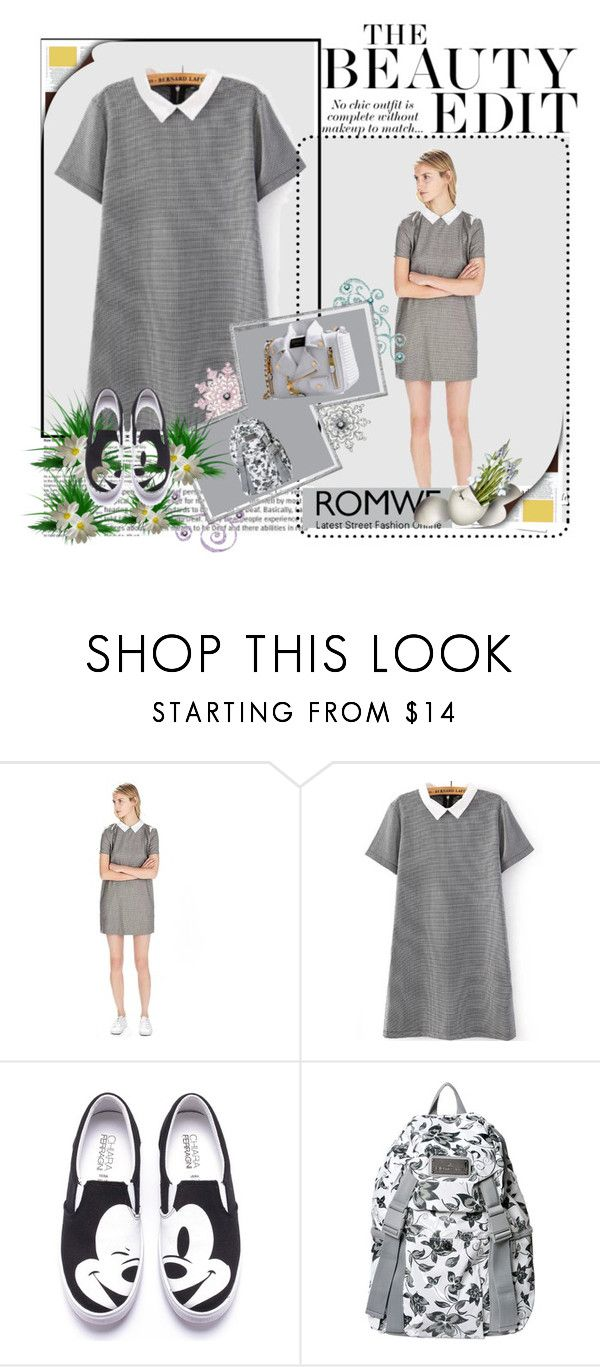 """""""Untitled #87"""" by azrahadzic ❤ liked on Polyvore featuring adidas, Moschino and romwe"""