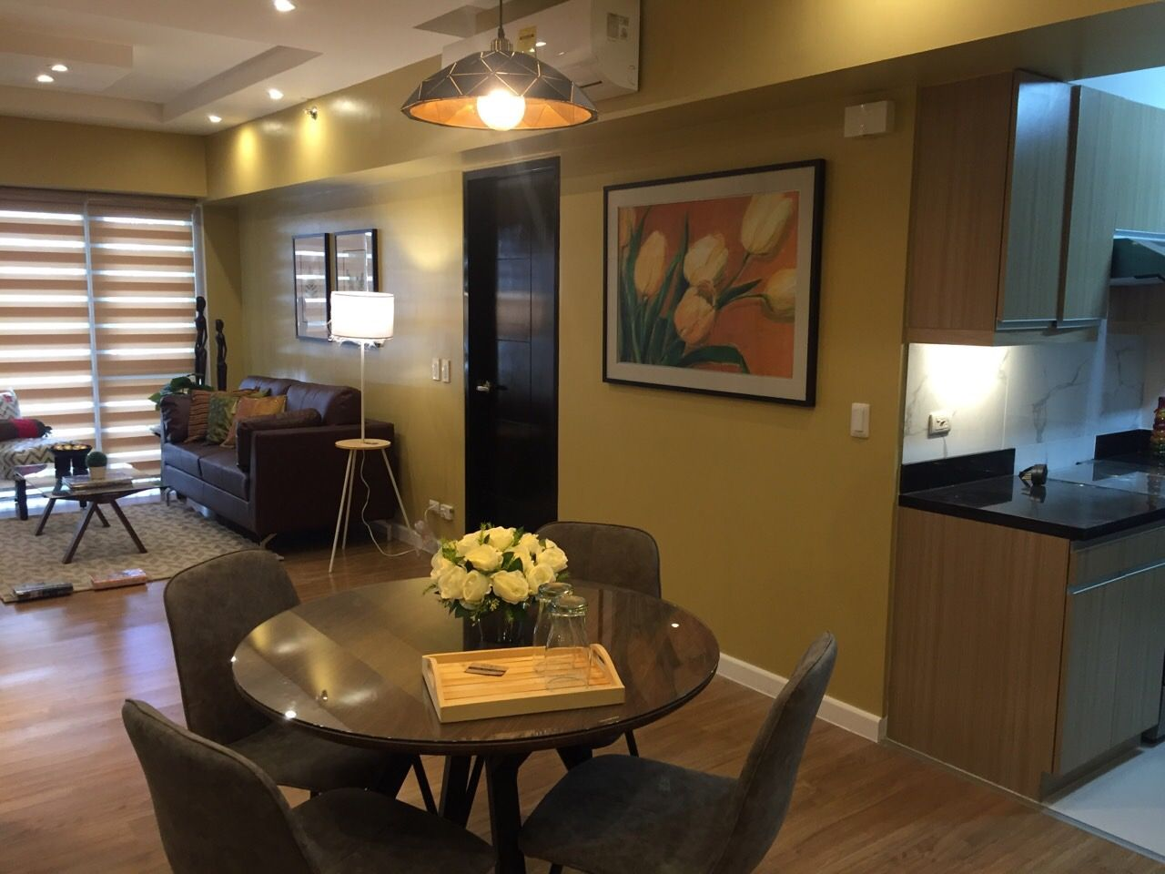 1 Bedroom Condo For Rent In Bgc Taguig City 64sqm One Meridian Tower 2 8th Floor Fully Furnished With Parking With Bal Condos For Rent Furnishings Taguig