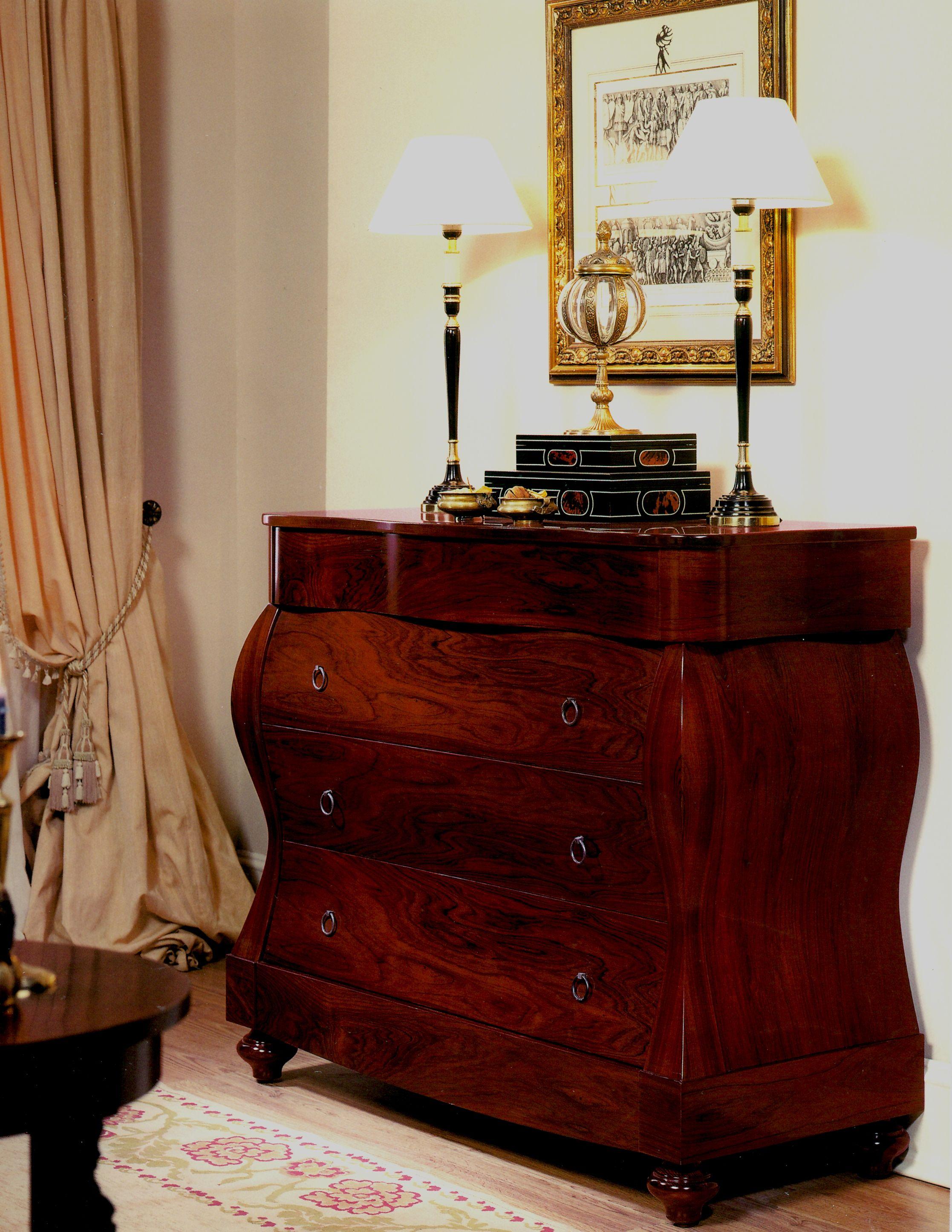 Cómoda En Madera De Palosanto Muebles Muebles Para Tienda Muebles Clásicos