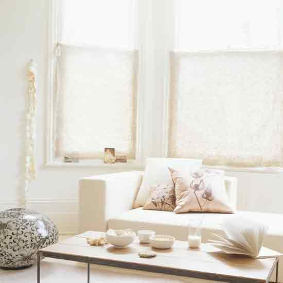 Bay Window Half Curtain