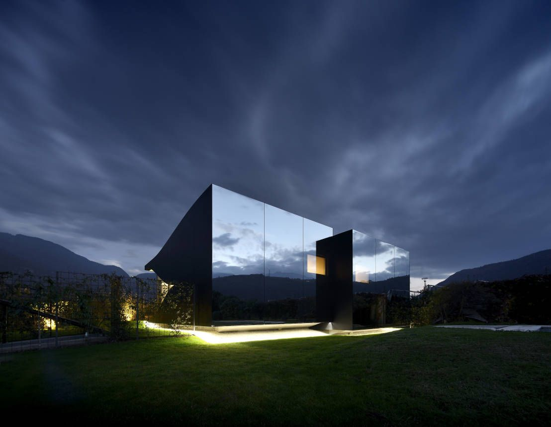 Häuserfassaden Modern 8 spektakuläre häuserfassaden minimalist architecture and mirror