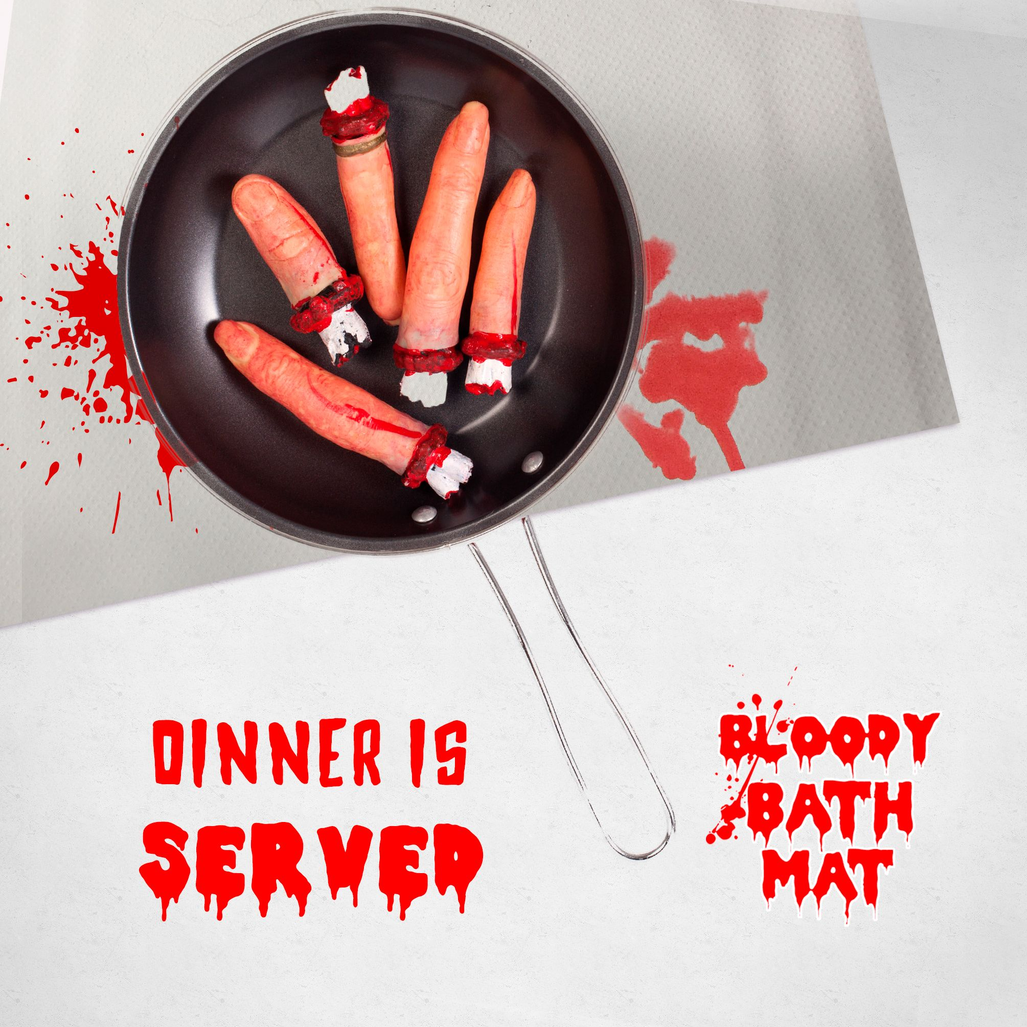 Pin On Bloody Bath Mat