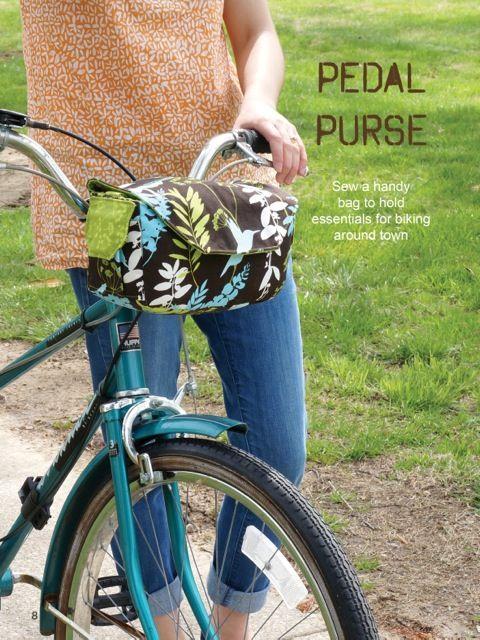 My Bike Bag In Sew It Today Magazine Bike Bag Pattern Bike Bag Sewing