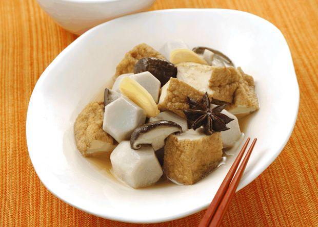 ネスレレシピ:里芋と厚揚げの中華風ブイヨン煮