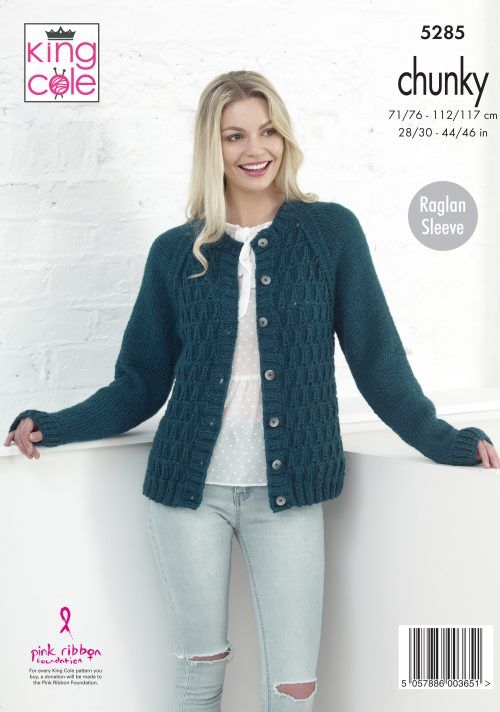 Free, Easy to Follow Sweater & Cardigan Knitted in Magnum ...