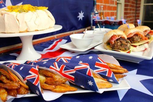 Australia Day Food Menu