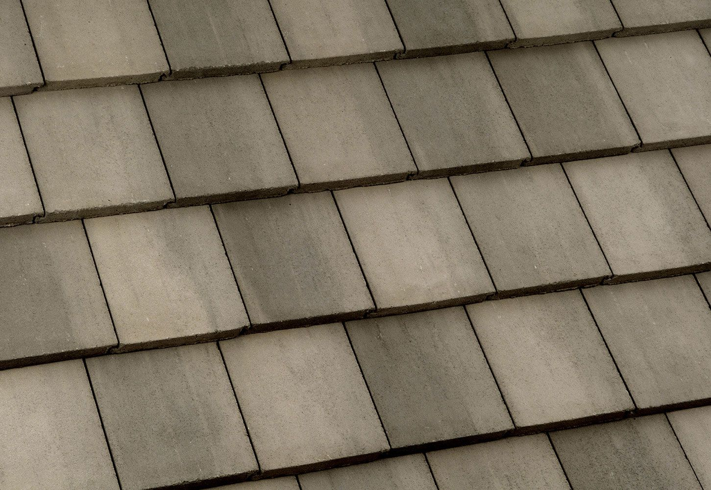 Brown Gray Range Concrete Roof Tiles Roofing Concrete Tiles
